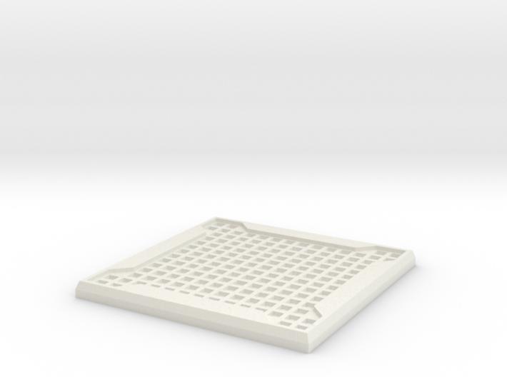 Sci-fi Mesh Floor Tile 3d printed
