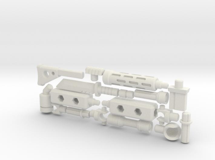 ModiBot 'Recon' System Firearm Set 3d printed