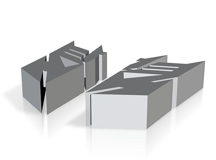 decepticon logo small mixmaster 3d printed