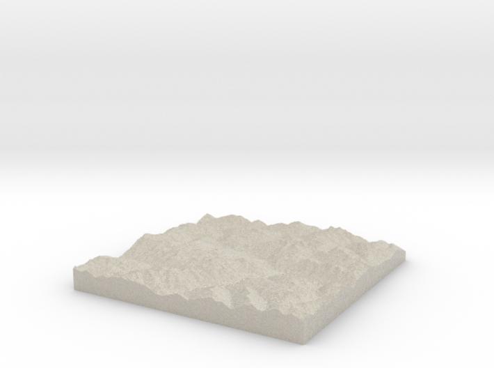 Model of Serneus 3d printed