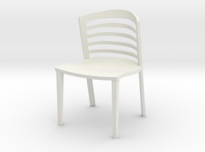 "Lowenstein Chair 3.8"" tall 3d printed"