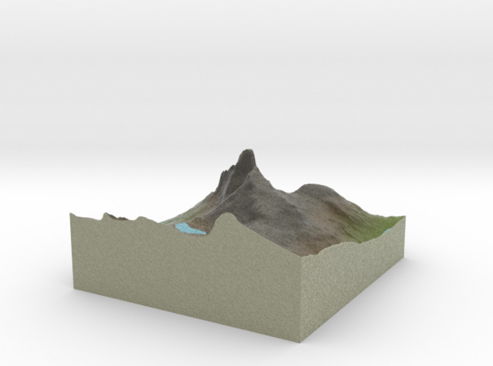Terrafab generated model Tue May 27 2014 01:10:45 3d printed