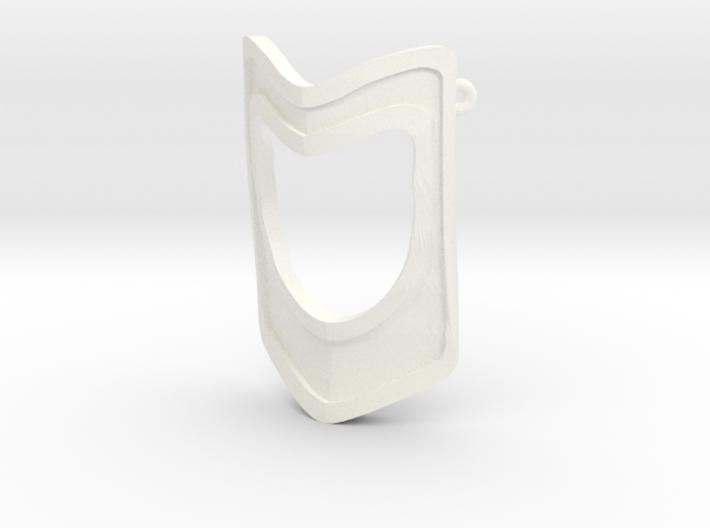 Gladiatrix Mask w. Loops 3d printed