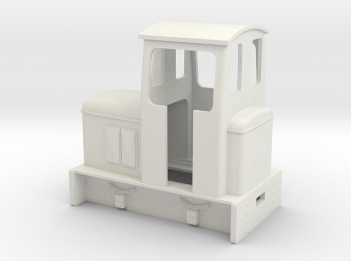 Gn15 OK diesel loco with cab 3d printed