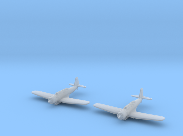 1/285 Vought SB2U Vindicator (x2) 3d printed