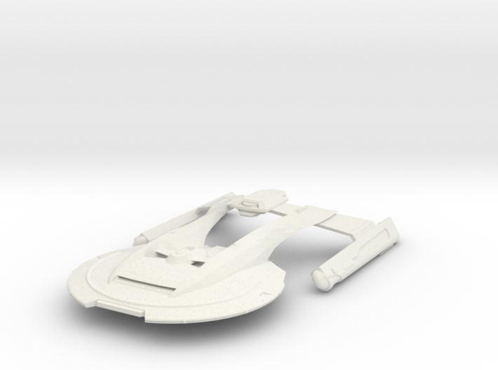 USS Thunderchild 3d printed
