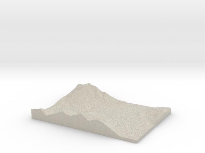 Model of Balfour 3d printed