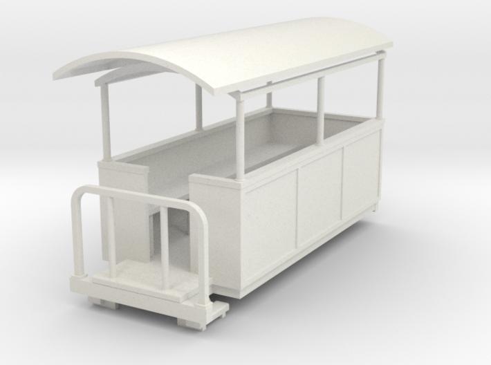 1:32/1:35 semi-open coach 3d printed