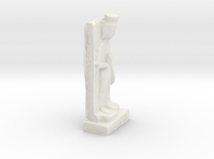 Chinese Bodhisattva Sculpture 3d printed