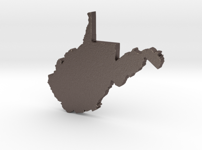 Country Roads 3d printed