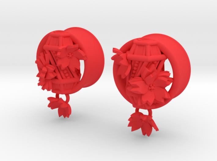 15/16 Inch Hanging Asian Lantern Plugs 3d printed