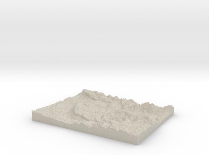 Model of Fruita 3d printed