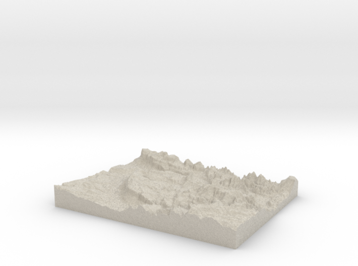 Model of Fruita 3d printed
