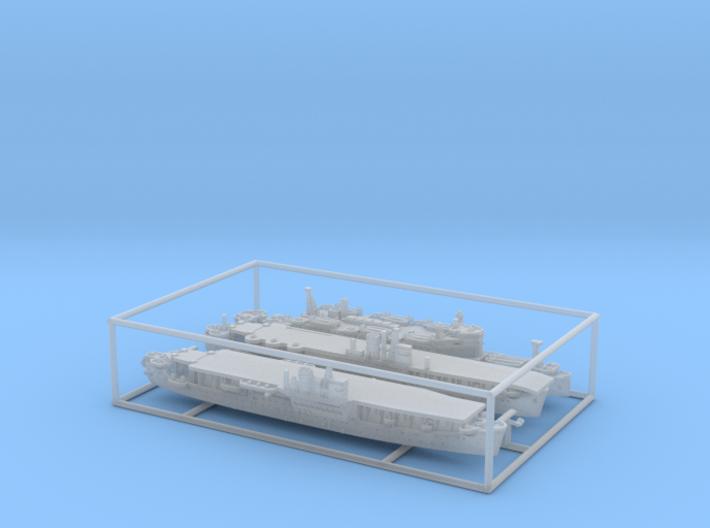 1/2400 IJN(IJA) Amphibious Assault Ships (Set1*) 3d printed