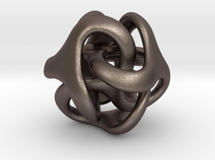 Trilio - Dadi - 20mm pendant 3d printed