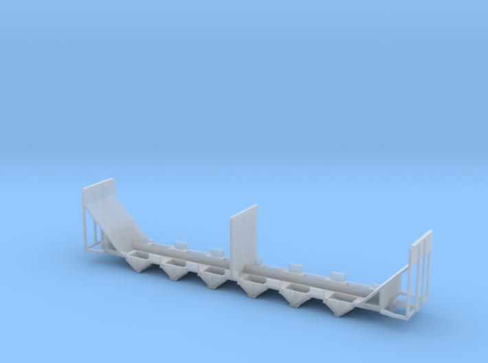 Woodchip Hopper Frame N Scale 3d printed