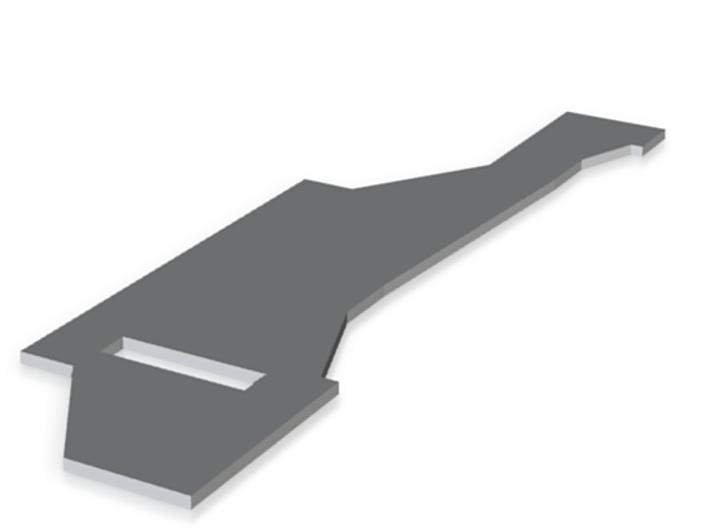 hidden blade part 6 3d printed