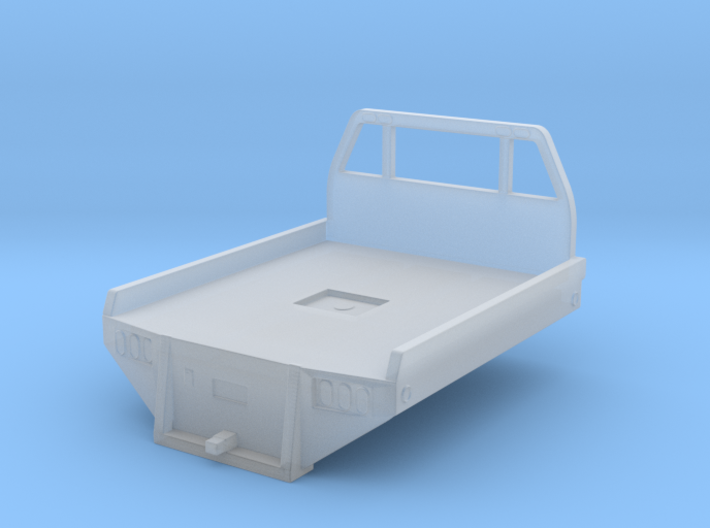 1/64 Scale Rancher Bed 3d printed
