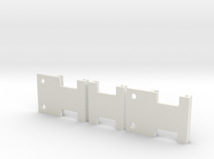Ord Bot Hadron - Hall effect Endstop holders 3d printed