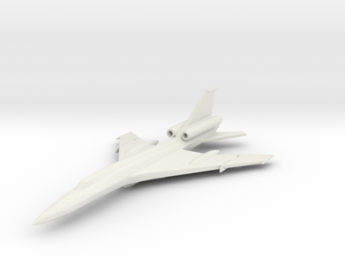 1/285 (6mm) TU-22 Blinder 3d printed