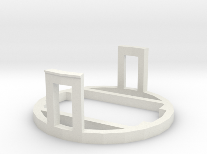 PiDOF Adapter holder (Canon ext tube int dia 57mm) 3d printed
