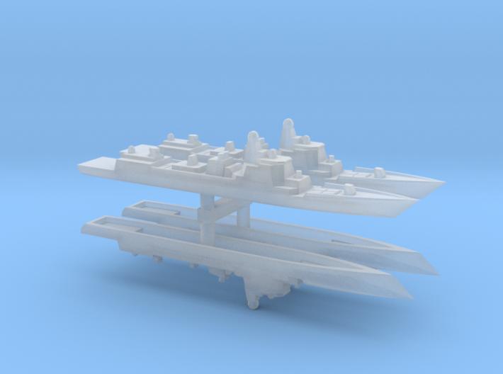 Type 052D 1/6000 x4 3d printed