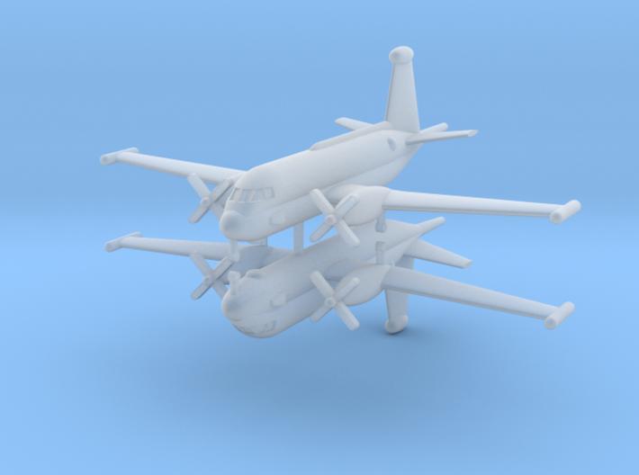 1/600 Br.1150 Breguet Atlantic 2 (x2) 3d printed