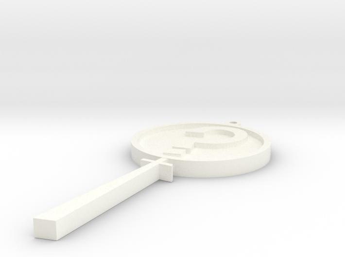 MysteryInc Pendant 3in 3d printed