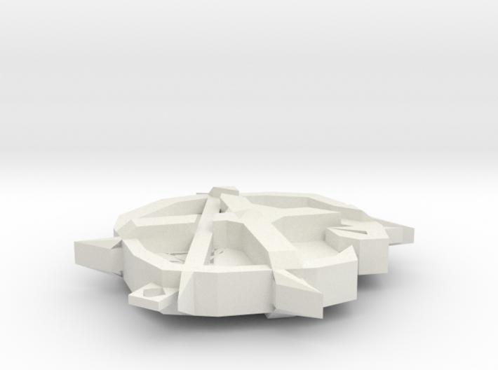 GLX Pendant 3d printed