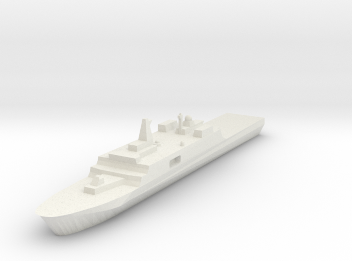 Yuzhao (Type 071) 1:1200 3d printed