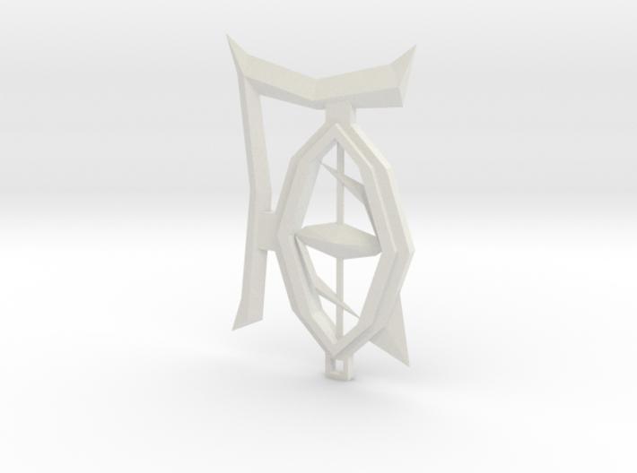 LOS Pendant 3d printed