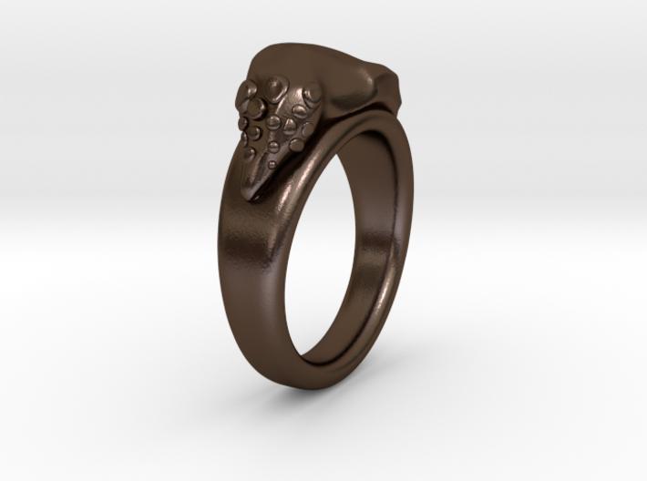 GnOOf-ring: inside diameter 19,3mm 3d printed