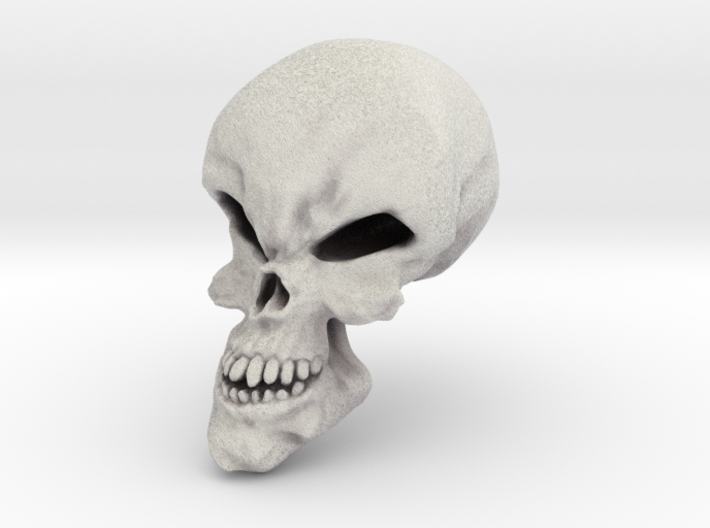 Little Scary Skull 3d printed