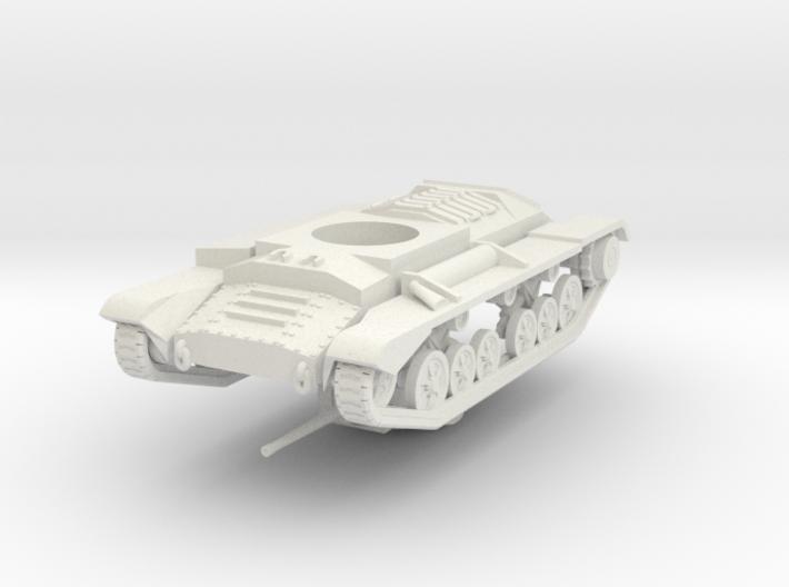 Vehicle- Valentine Tank MkIII (1/87th) 3d printed