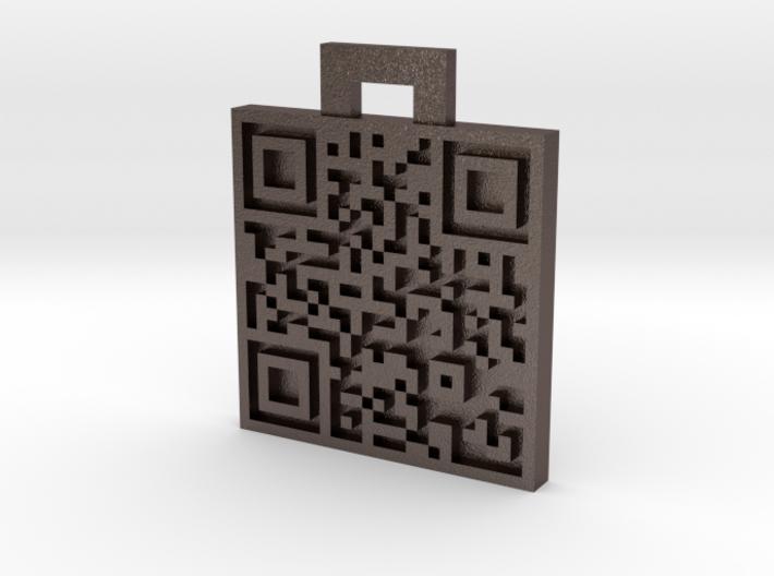 QRCode -- http://www.koelnkamera.de 3d printed