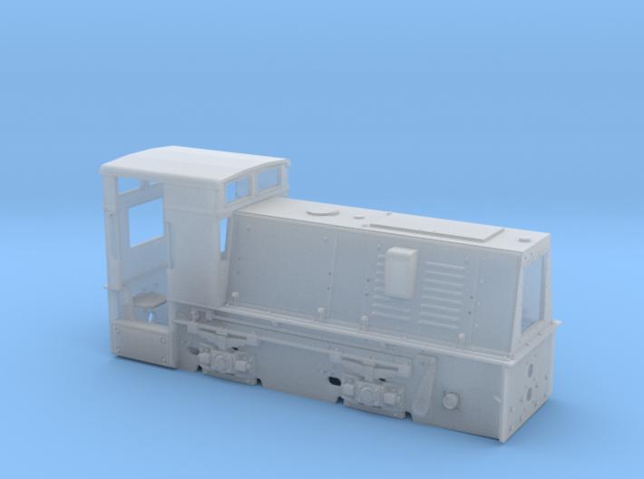Feldbahnlok HF50b 1:35 Quarzwerk Horrem 3d printed