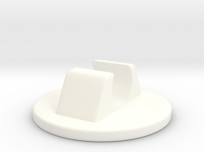 Plastic Glide for the Knoll Butterfly Chair 3d printed