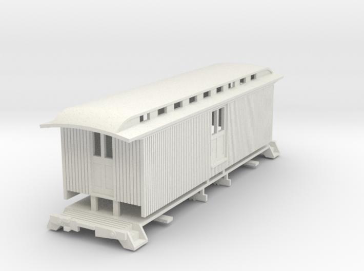 HOn3 30ft Baggage Car C 3d printed