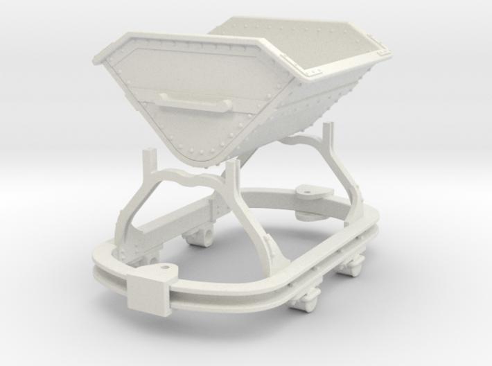 0n16.5 Skip riveted body round axlebox 3d printed