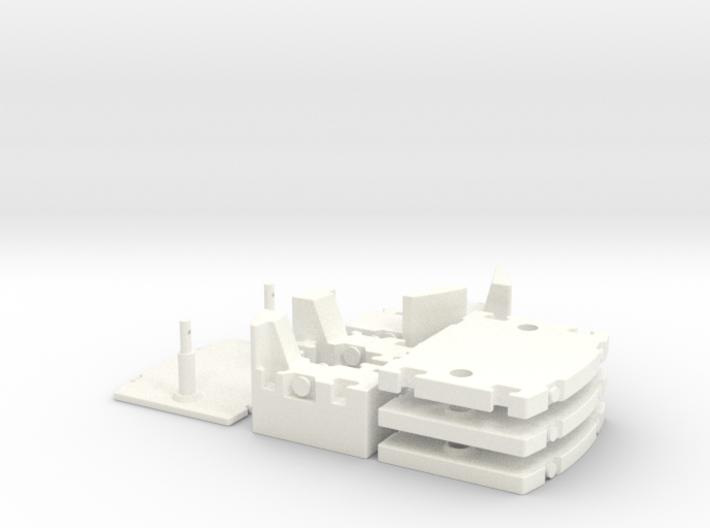 LTM 1250-6-1 Counterweight 1:50 3d printed