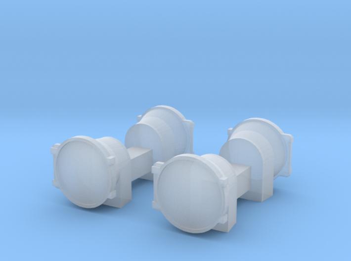 UP Water Tender - Spare Head Lights 3d printed