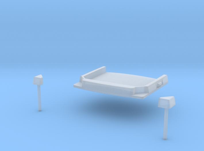 0400-D-87_Dach für Econicfahrerhäuser 3d printed