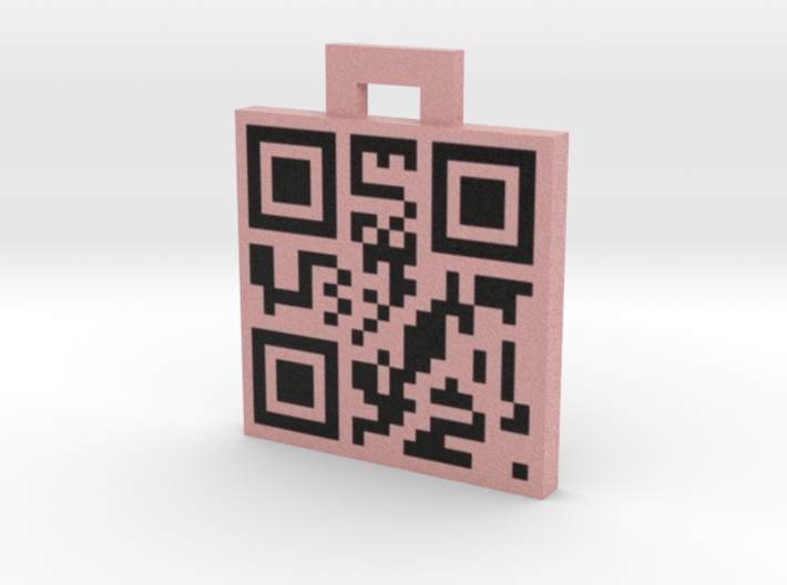 QRCode -- hello 3d printed