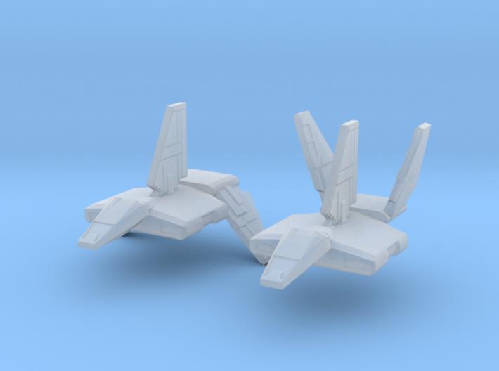 1/2256 Sentinel Landing Craft 3d printed