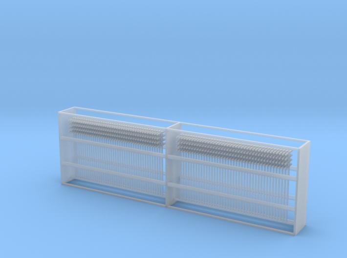 80 Z Scale Single Telegraph Poles - fine details 3d printed