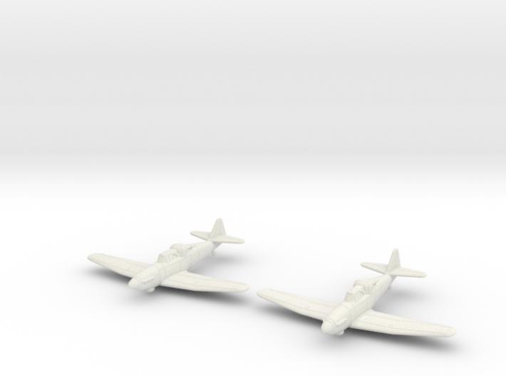 1/200 Boulton Paul Defiant (x2) 3d printed