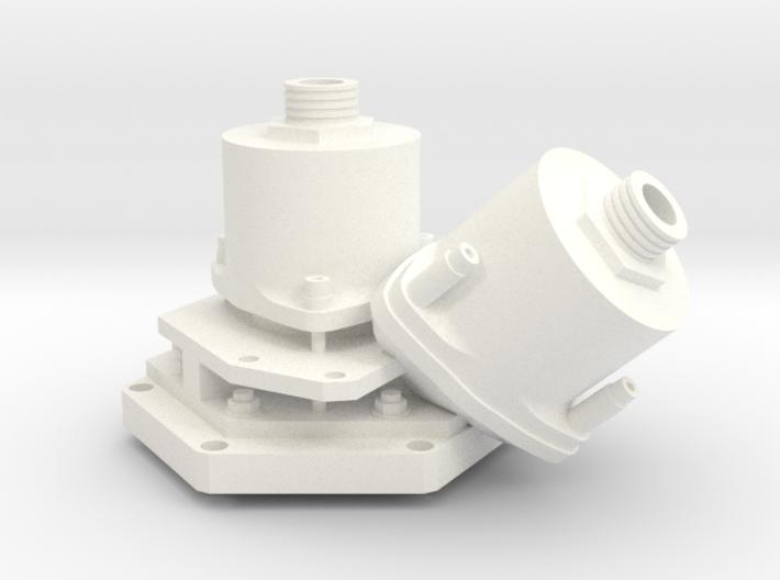 Apollo RCS Engine 1:1 Head 3d printed