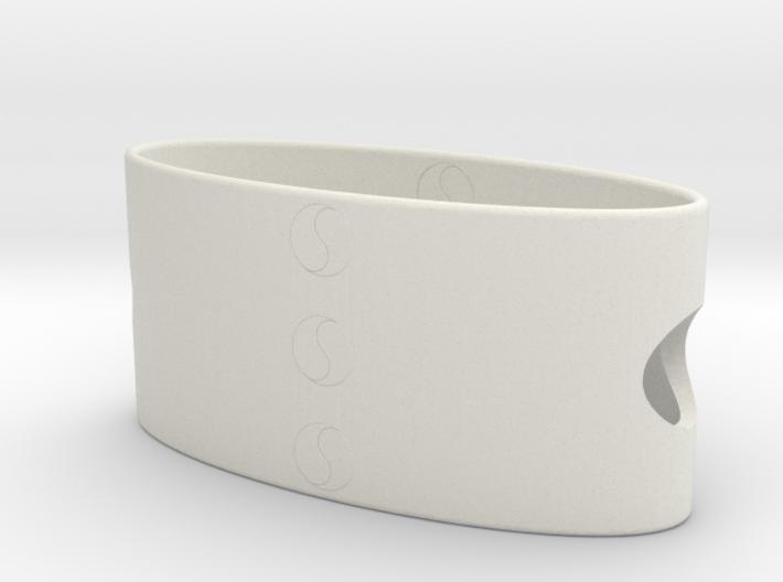 Ying Yang Bracelet 3d printed