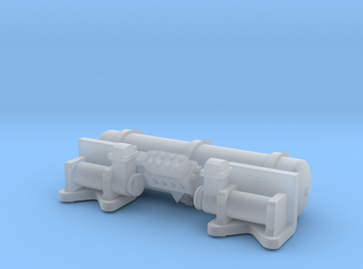Accuair Exo Mount System For 1/24 Scale Model 38mm 3d printed