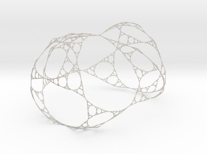 Sierpinski Gasket Like Network 3d printed